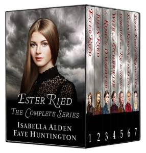 Boxed set e-book cover for Ester Ried, the Complete Series.