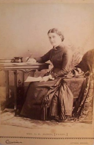 Isabella Alden in an undated photograph.