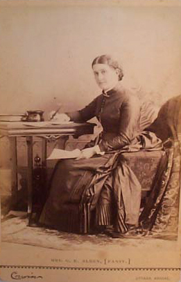 Isabella Alden in an undated photograph.