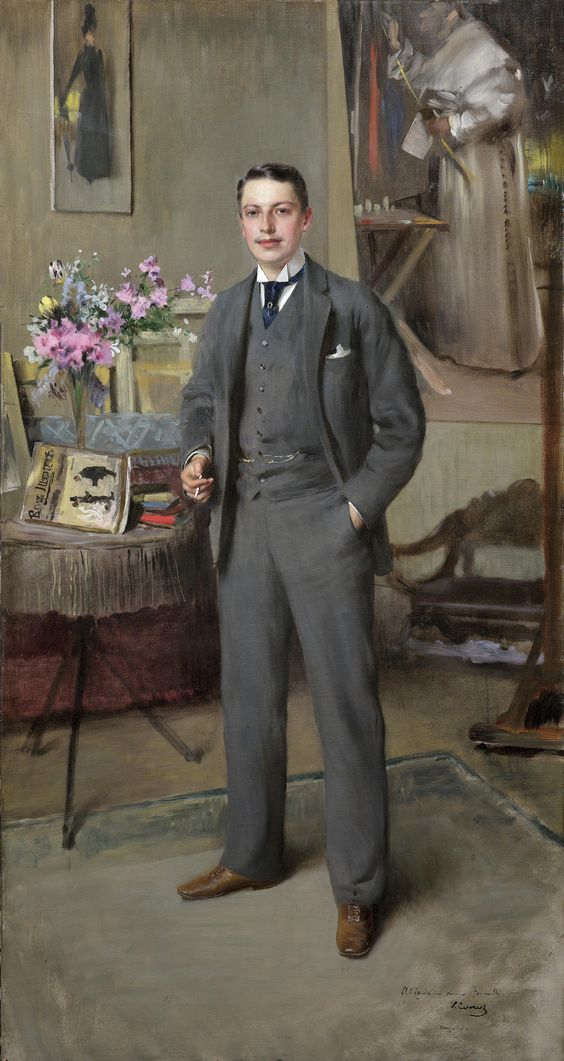 A Victorian Gentleman, by Vittorio Matteo Corcos, 1890.