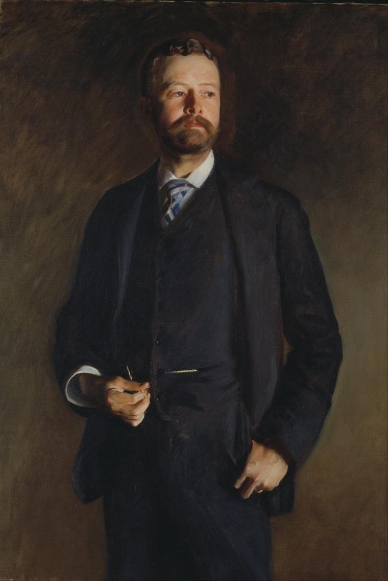 Portrait of Henry Cabot Lodge, by John Singer Sargent, 1890.