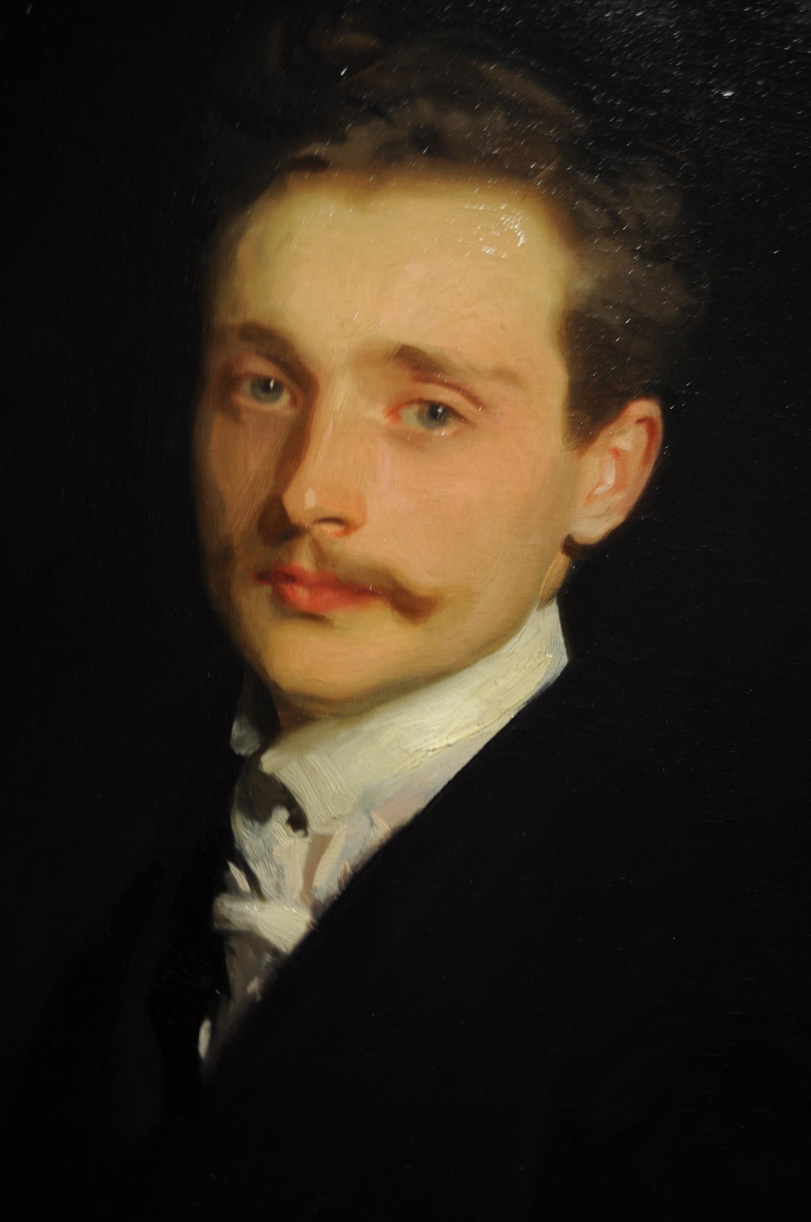 Portrait of Leon Delafosse, by John Singer Sargent, 1898.