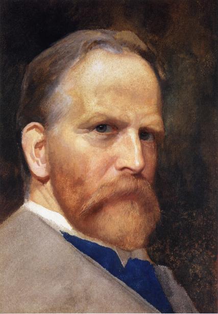 Self-portrait, by James Wells Champney.