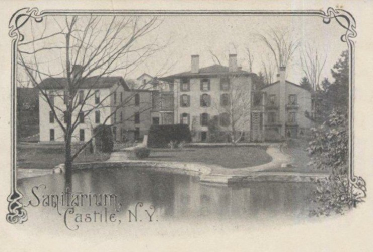 The Castile Sanitarium in 1905.