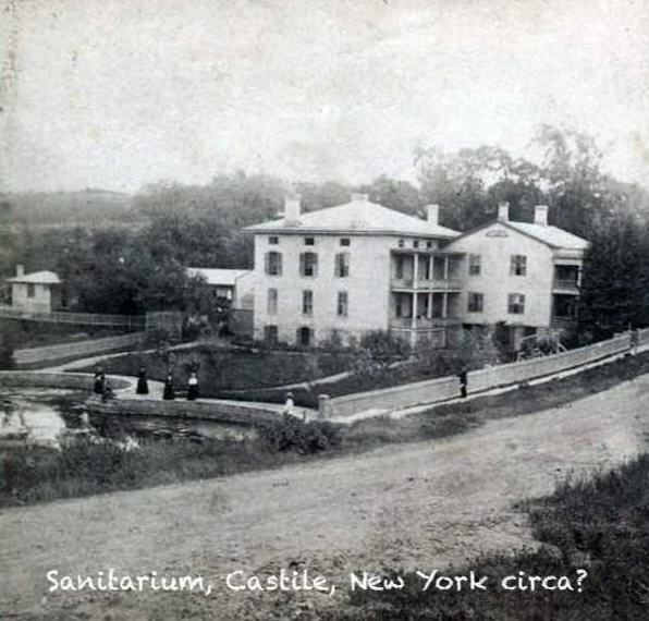 The Sanitarium in an undated photo.