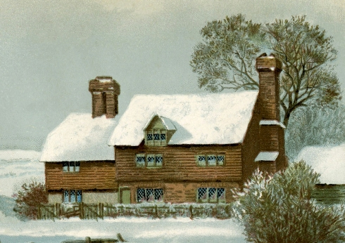 farmhouse-in-winter