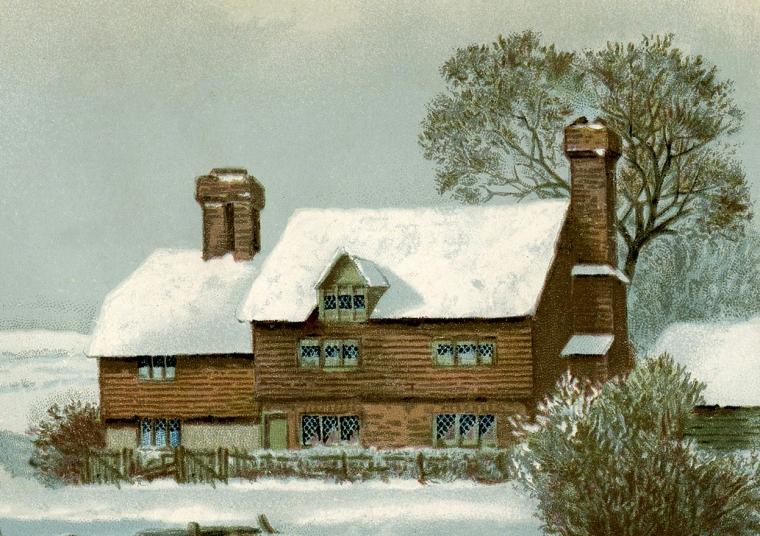farmhouse-in-winter