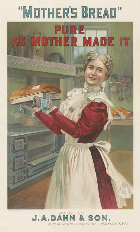 Trade Card for J. A. Dahn and Son Baking Company, from about 1900.