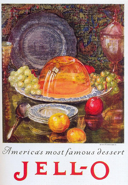 Print ad for Jell-O, early 1920s