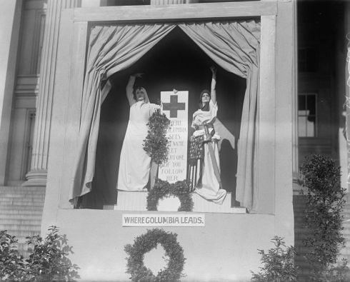 red-cross-demonstration_where-columbia-leads-1917