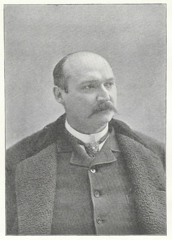 Black and white photograph of P. A. Burdick.